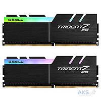 Оперативная память G.Skill DDR4 32GB (2x16GB) 3000 MHz Trident Z RGB (F4-3000C14D-32GTZR)
