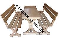 Скамейки столы деревянные