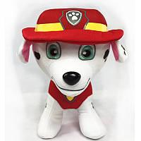 Мягкая игрушка Брелок Щенячий патруль - Маршал 10 см.