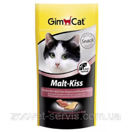 Витаминная подкормка для естественного вывода шерсти из кишечникаGimpet Malt-Kiss (Мальт-Кис), фото 2