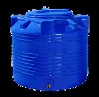 Емкость двухслойная 200 литров вертикальная - 66 х 70 см Ротоевропласт