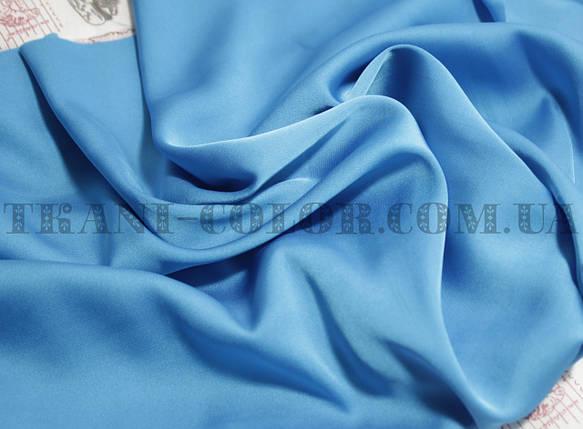 Шелк армани голубая бирюза, фото 2