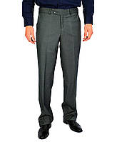 Серые в клетку мужские брюки классические VIK VLADIS