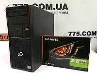 Игровой компьютер Fujitsu P710 Intel Core i5-2400 3.4GHz, RAM 8ГБ, HDD 320ГБ, GeForce GT 1030 2GB(новая), фото 1