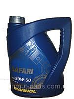 Масло моторное Mannol SAFARI 5L SAE 20W/50 API SG/CD