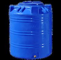Емкость двухслойная вертикальная 300 литров - 70 х 87 см Ротоевропласт
