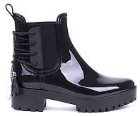 Самые стильные резиновые ботинки 2017года  размеры 36,37,40