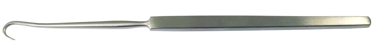 Крючок трахеотомический острый. Длина 16 см