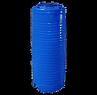 Емкость двухслойная вертикальная 300 литров - 57 х 140 см узкая Ротоевропласт