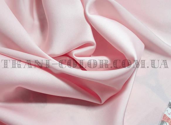 Ткань шелк армани розовый, фото 2