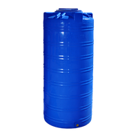 Емкость 750 литров вертикальная двухслойная - 79 х 170 см узкая Ротоевропласт
