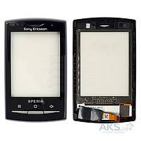Сенсор (тачскрин) для Sony Ericsson X10 mini pro U20 Black