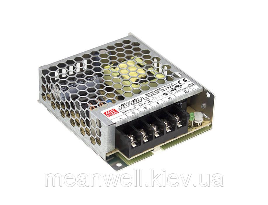 LRS-35-24 Блок питания Mean Well 36Вт, 24В, 1.5А