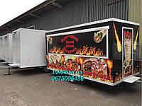 Торговый прицеп для горячей выпечки, фото 1