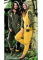 Домашняя одежда Dika Пижама женская 4633 темно-зеленый M