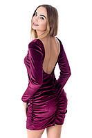 Женское платье из бархата, фото 1