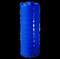 Ёмкость 1000 литров, вертикальная, двухслойная - 80 х 223 см узкая Ротоевропласт