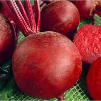 Семена свеклы Красный шар (Франция) 500 г — среднепоздняя сортовая (90-100 дней), круглая, столовая.