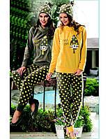 Домашняя одежда Dika Пижама женская 4638 желтый M