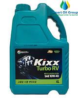Моторное масло для дизельных двигателей KIXX TURBO RV 10W-40  6л