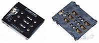 (Коннектор) Aksline Разъем SIM-карты Sony F3311, F3313 Xperia E5 / F3111, F3113, F3115 Xperia XA