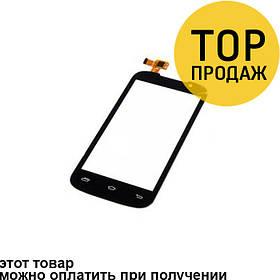 Сенсорный экран для мобильного телефона Prestigio 3400, черный