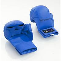 Перчатки для каратэ Tokaido (с защитой большого пальца) Цвет синий
