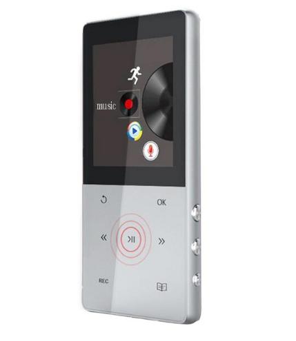 MP3 Плеер A6 Hi-Fi 8Gb Серебро