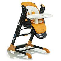 Детский стульчик для кормления+ укачивающий центр Mioobaby-Baby Jazz Черный