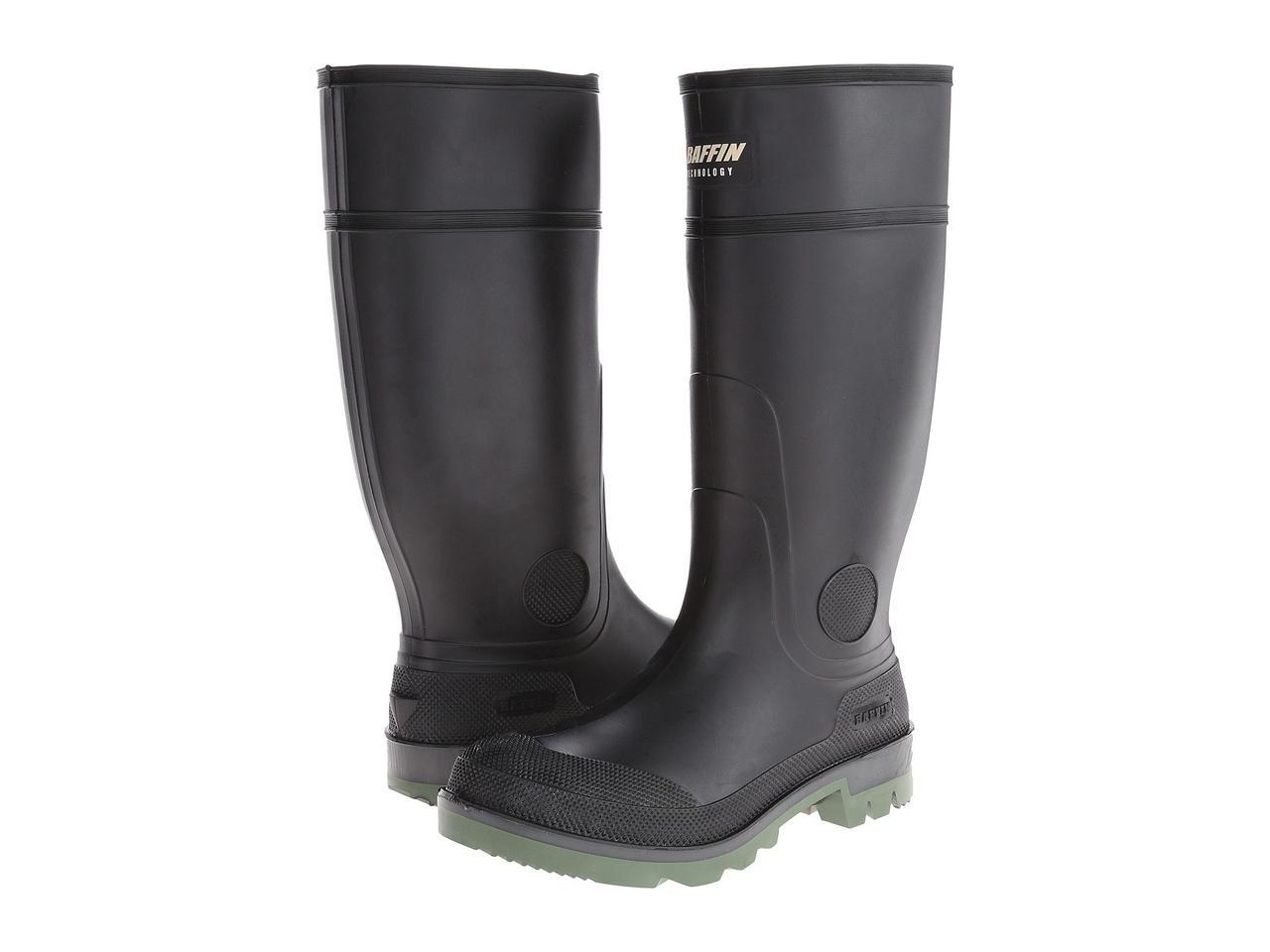 Ботинки/Сапоги (Оригинал) Baffin Enduro Plain Toe Black/Clear/Green
