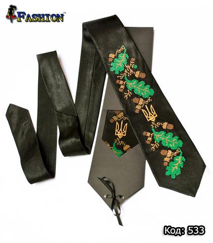 Вышитый галстук Святогор