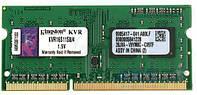 Оперативная память для ноутбука Kingston SO-DIMM DDR3 4GB 1600 MHz ValueRAM (KVR16S11S8/4)