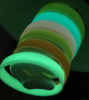 Силиконовые браслеты неон флуорисцентные