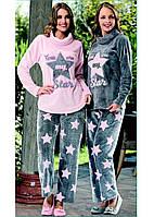 Домашняя одежда Dika Пижама женская 4655 розовый S