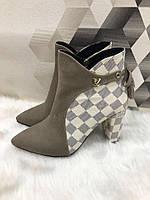 Ботинки Louis Vuitton беж
