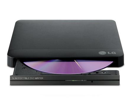 "Super-Multi Portable DVD Rewriter с M-DISC ™ GP50NB40 ""Over-Stock"""