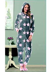 Домашняя одежда Dika Пижама женская 4657 серый M