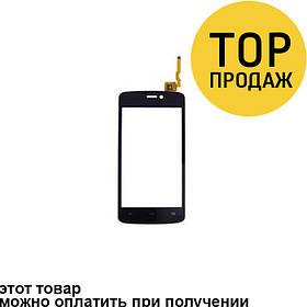 Сенсорный экран для мобильного телефона Qumo Quest 401/402, черный