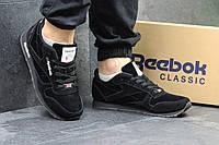 Кроссовки Reebok Classic Leather since 1983 черные 4022