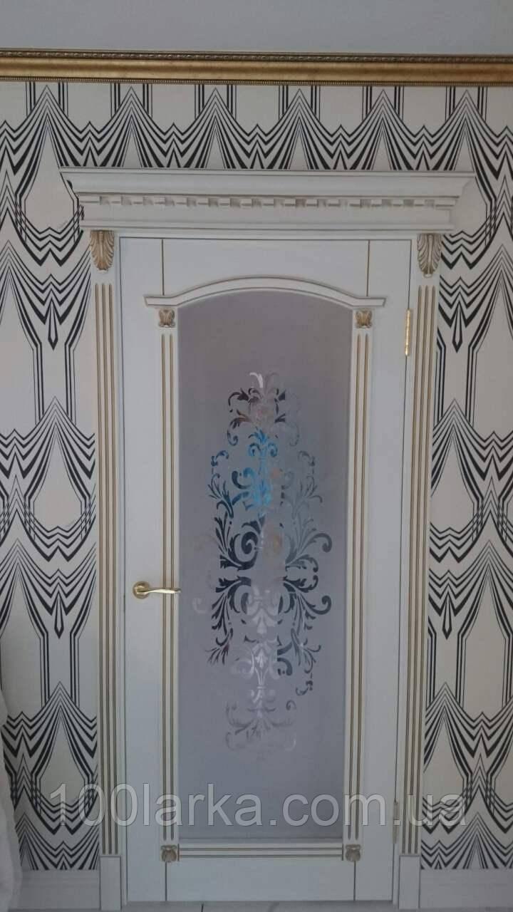 Міжкімнатні дерев'яні двері М-26 від виробника