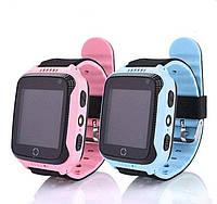 Детские умные часы с GPS-трекером фонариком камерой и игрой  Smart Baby Watch Q528/Q529