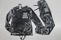 Велюровый спортивный костюм для девочек. 140- 158 рост