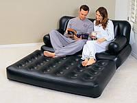 Надувной диван-трансформер 5 в 1 Bestway 75039 (193х152х64 см)