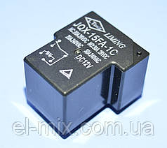 Реле 12V 1группа  JQX-15FA-1С (30A 240V) 6pin on-on  Liming  PRE0007