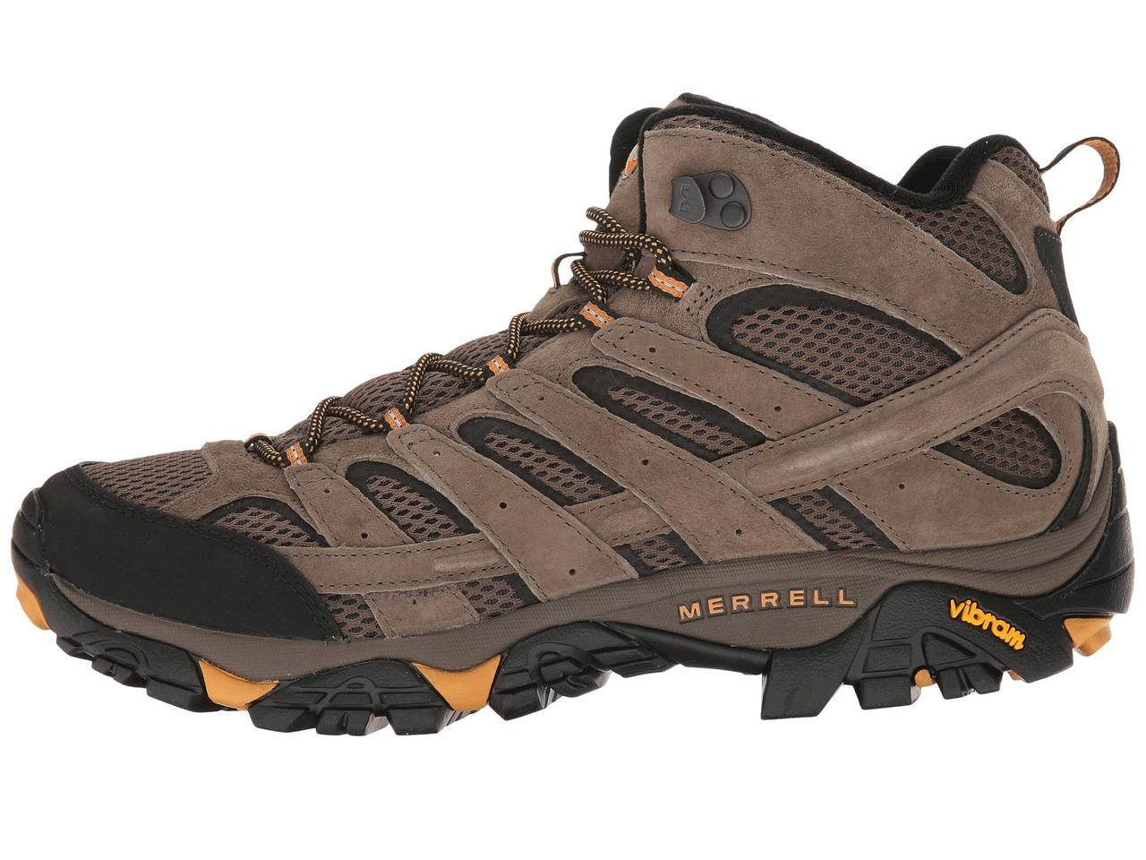 Ботинки Сапоги (Оригинал) Merrell Moab 2 Vent Mid Walnut  продажа ... cf855efe1d8ce
