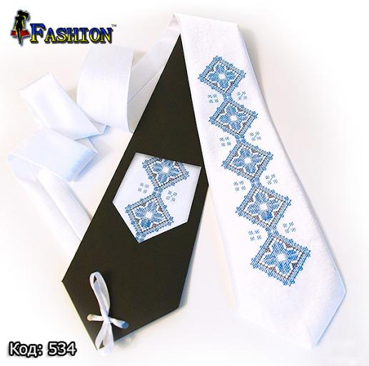 Вышитый галстук Тарас