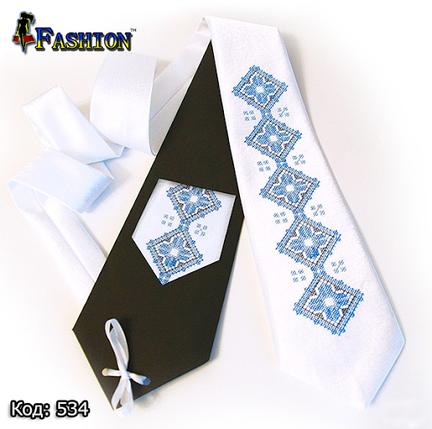 Вышитый галстук Тарас, фото 2