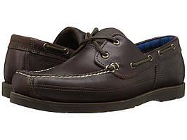 Мокасины (Оригинал) Timberland Piper Cove Leather Boat Shoe Medium Brown Full Grain