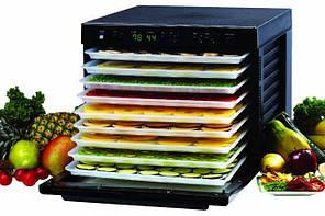Дегидратор сушилка для овощей и фруктов  SEDONA SD-P9000, 9 подносов из пластика, черный