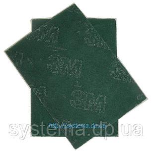 Шлифовальный лист скотч-брайт, 158 х 224 мм, A FIN, зеленый - 3M 07496 Scotch-Brite GP-SH, фото 2
